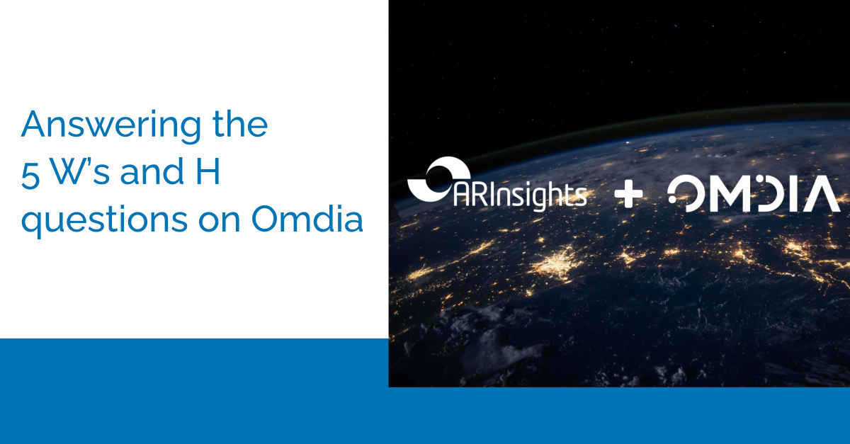 Connecting the Dots with Omdia | Presented by Omdia & ARInsights
