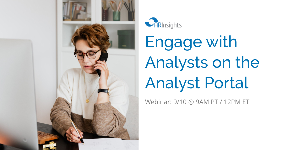 Engage with Analysts on the Portal