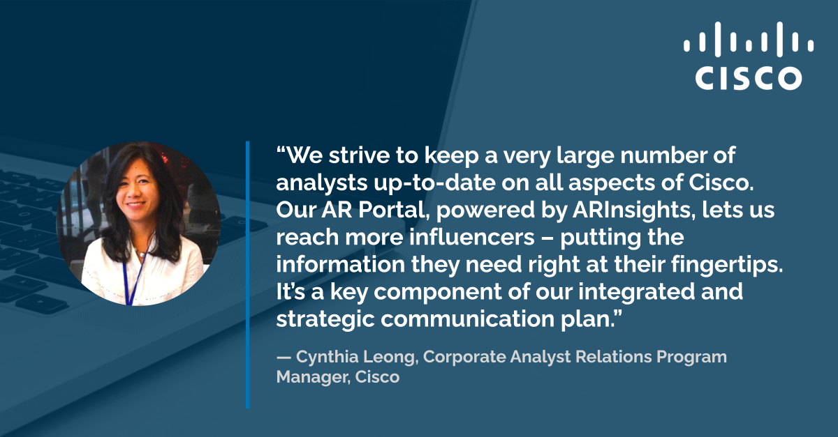 Keeping More Analysts Better Informed with a Central AR Portal