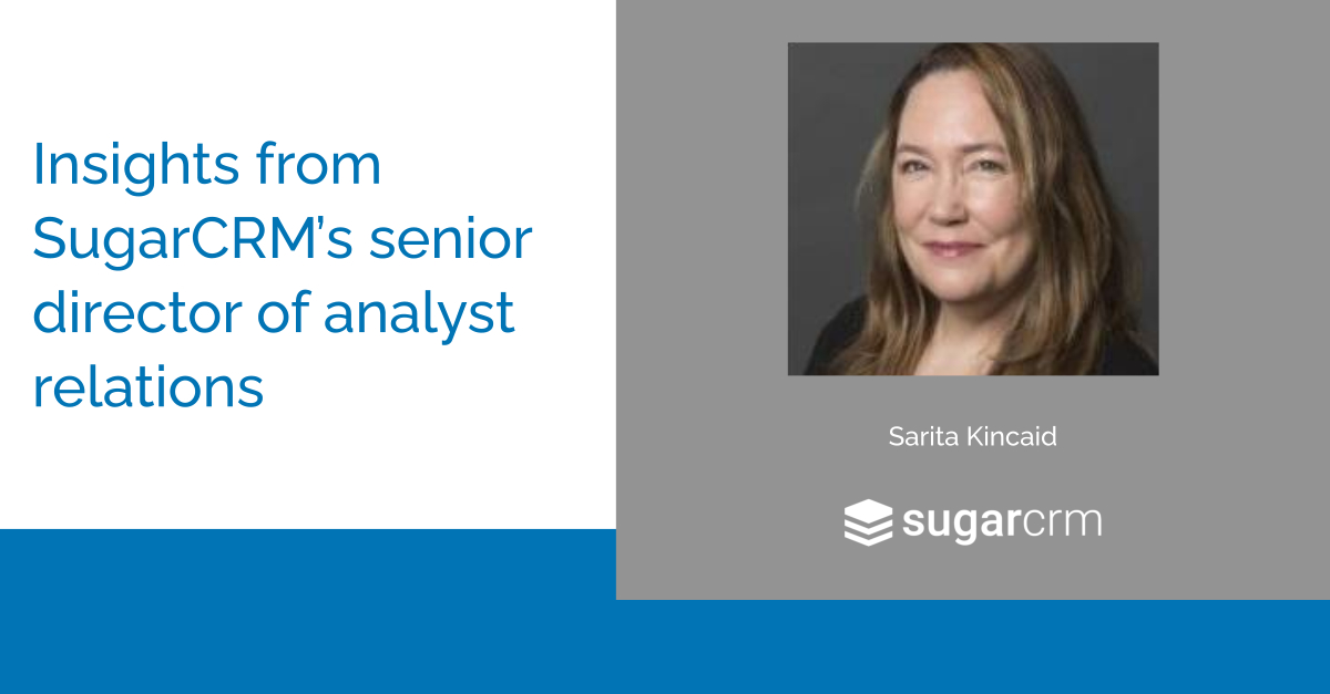 Q&A: How SugarCRM Uses AR Technology to Easily Report on Results (User Forum Preview)