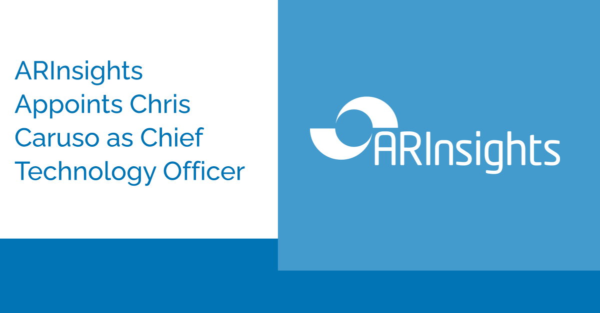 ARInsights Appoints Chris Caruso as Chief Technology Officer